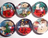 Charlie Brown and Snoopy Magnet Set