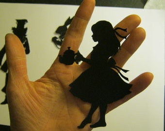 Alice in Wonderland Silhouette