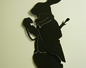 The March Hare Silhouette
