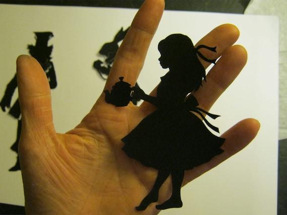 Alice in Wonderland Silhouette