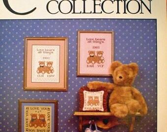 Teddy Bear Wedding Sampler - CROSS STITCH PATTERN