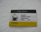 Size 15 John James English Beading Needles 25 pack (BN15)