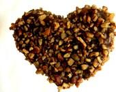 Julie's HEART SHAPED Fudge Pops - Just Chocolate Fudge - 2/3 Pound - Three Hearts Total