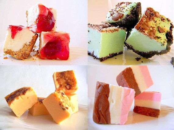Julie's Fudge EVERY MONTH - 8 Months - 1 pound each month - You Choose Flavors