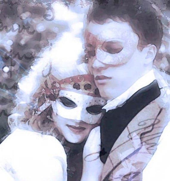 CLEARANCE - Star-Crossed Lovers - 8x10 Original Fine Art Fantasy Photography Print - Tristan and Isolde or Romeo and Juliet