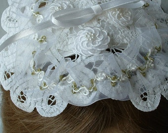 Wedding or Communion Headpiece - Removable For Keepsake - Memories