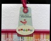 a very merry Christmas Handmade Christmas Card