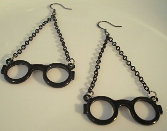 where are your glasses, mr potter - earrings