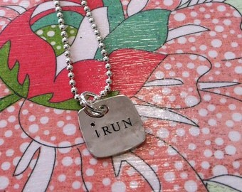 iRUN Necklace...Runner's Necklace...NEW