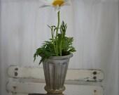 Petite Zinc Flower Vase