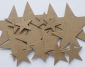 NESTiNG STARS - Raw CHiPBOARD Bare Die Cuts
