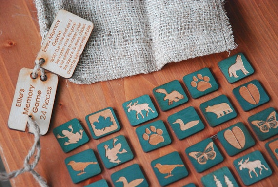 Customized 24 Piece Memory Game