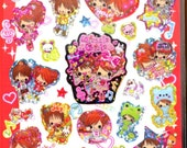 Kawaii Girls Character Stickers  ( gorgeous princess )