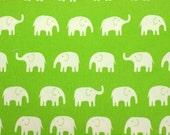 Big Elephant print 50 cm by 53  cm or 19.b by 21  inches fat quarter nc12