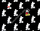 Disney Cartoon Mickey Mouse  Print Japanese fabric set of 2 pieces of Fat Quarter