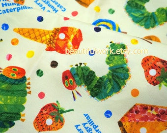 Very Hungry Caterpillar Fabric 45 cm by 106 cm 17.5 inches by 42 inches