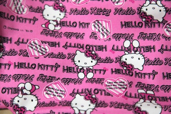 Hello kitty fabric by Sanrio