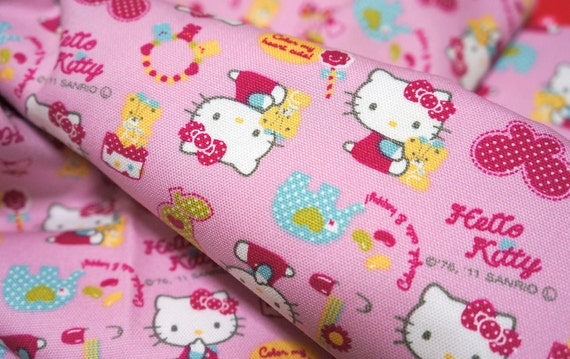 Hello Kitty Fabric Hello kitty