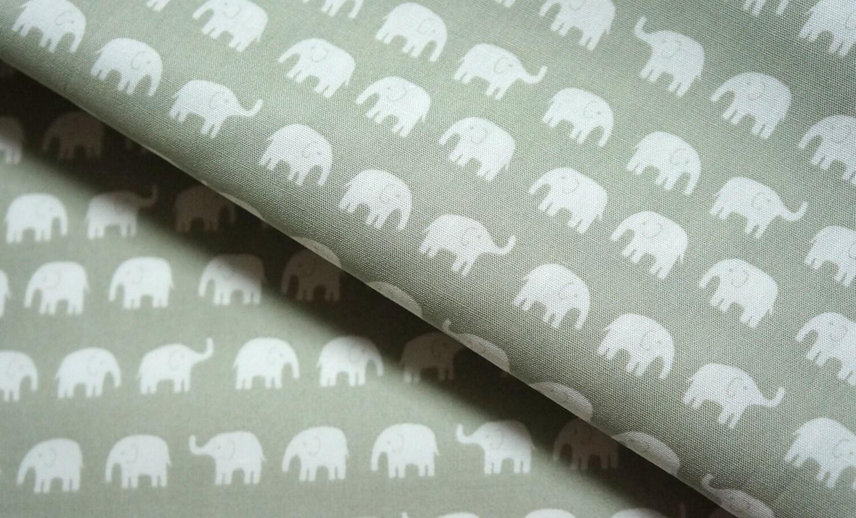 Elephant fabric tiny elephant half meter shipped after jan for Elephant fabric