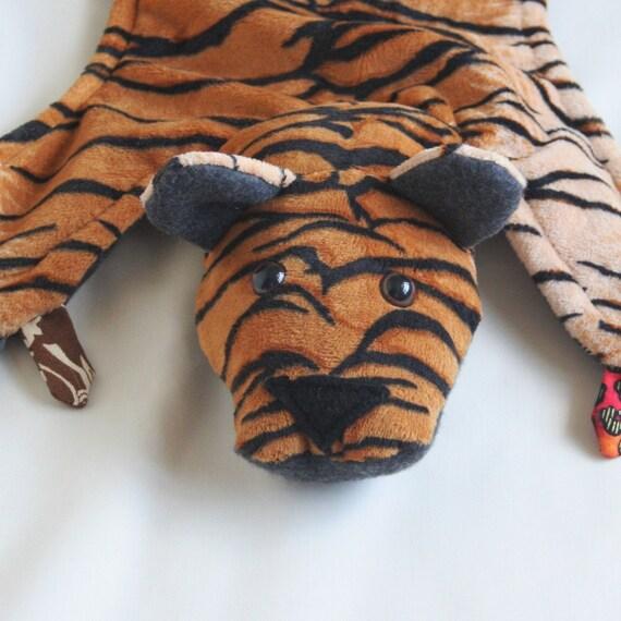Tiger Ruggle - Animal Security Blanket
