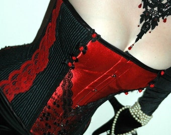 Made to measure 'Alison' steel boned tightlacing corset