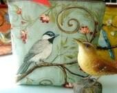 Woodland Bird Zipper Bag