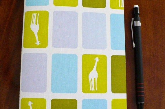 SALE Journal - Giraffe Boxes Last one