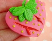 Strawberry Gashes - Self Injury Cutting Awareness - Help Support The CMHA - Pendant / Necklace