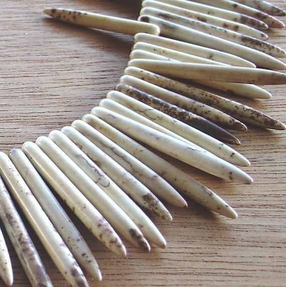 magnesite daggers 1 strand
