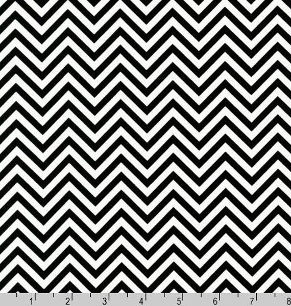 Fat Quarter - Zig Zag Remix Print by Ann Kelle AAK-10394-2 Black