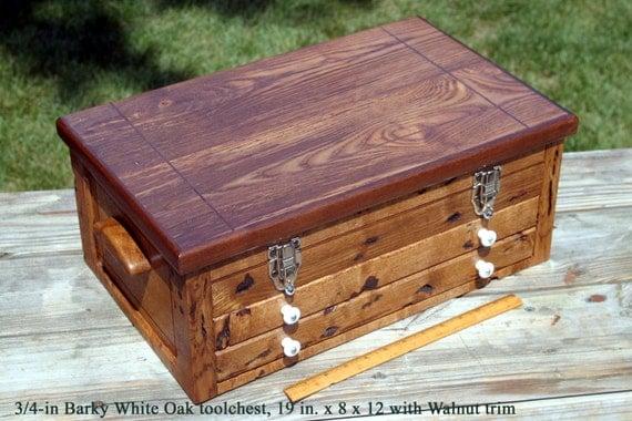 Barky Oak Tool Chest