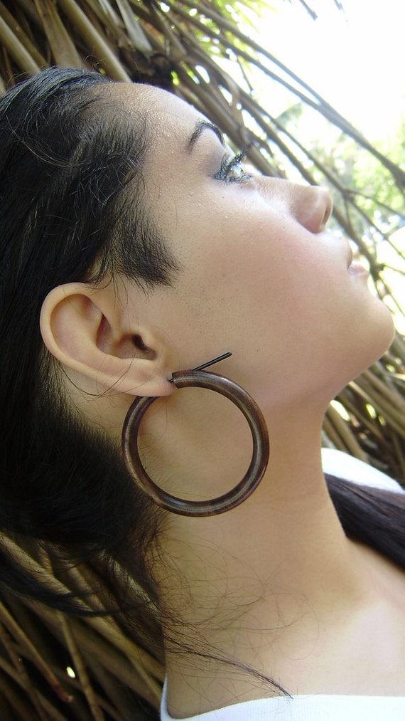 4 Gauge Earrings Organic