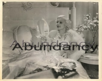 Art Deco Photograph Jean Harlow Dinner at Eight 1933 from Museum of Modern Art Film Stills Archive