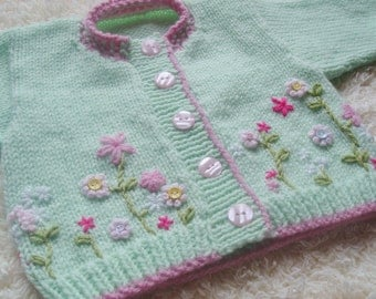 Baby Cardigan Made-to-Order