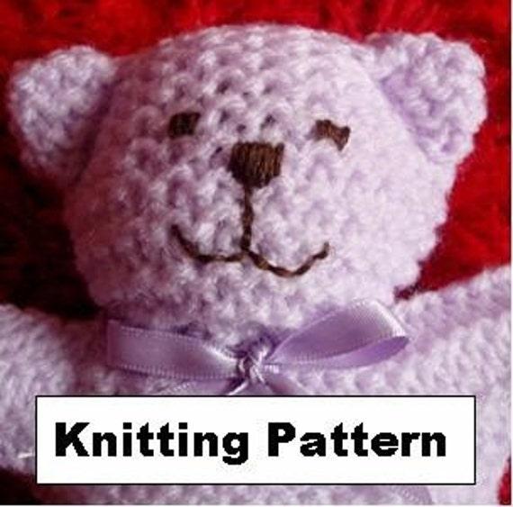 Baby Bear Knitting Pattern by jayceeoriginals on Etsy