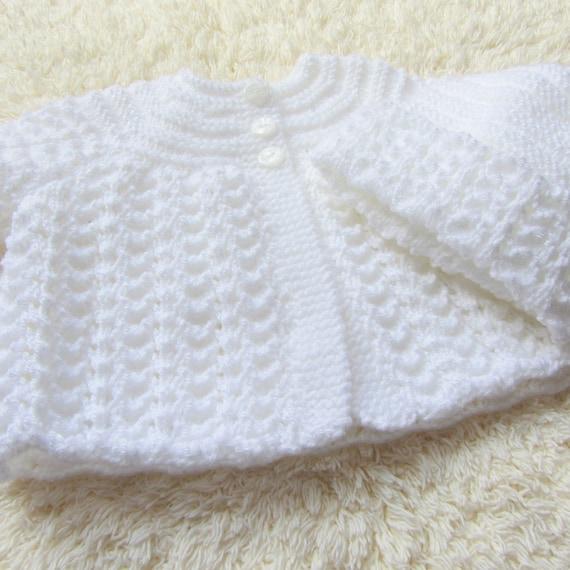 Hand Knitted Baby Pram Set