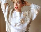 80s Oversized sweater