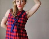 1960s Sailor mini dress