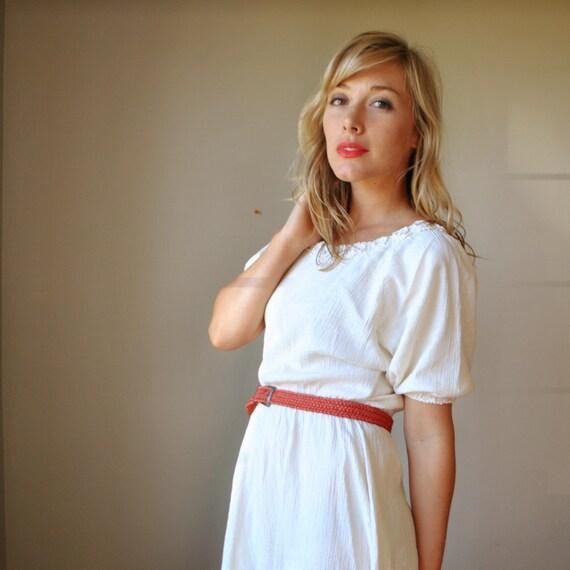 Creamy hippie Dress