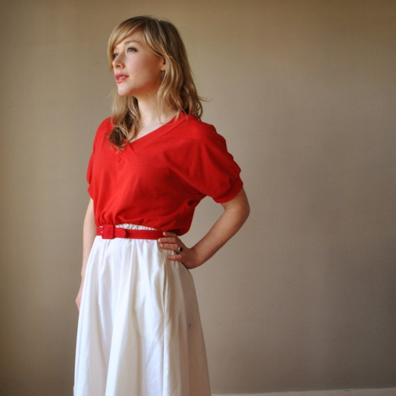 ON RESERVE.......70s Contrast dress