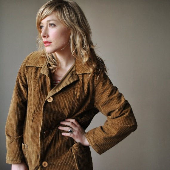 1970s Russet brown Corduroy jacket