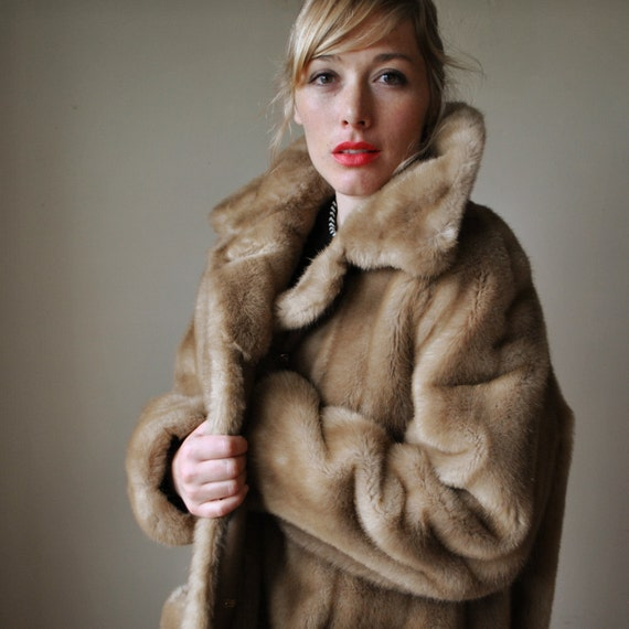 1970s  Faux fur Jacket