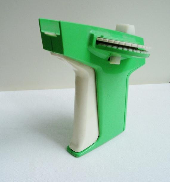 Dymo Label Maker Green Vintage 1980s