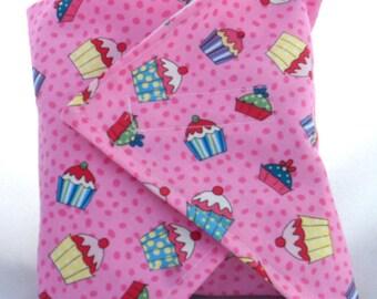 Cupcake Reusable Sandwich Wrap