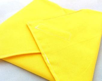 Yellow Reusable Sandwich Wrap