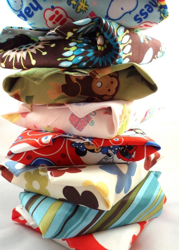 Mix and Match Reusable Sandwich Wraps - Your choice of 4