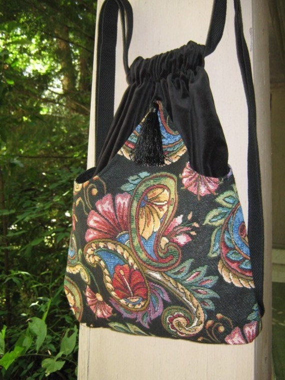 Brilliant Color Paisley Backpack