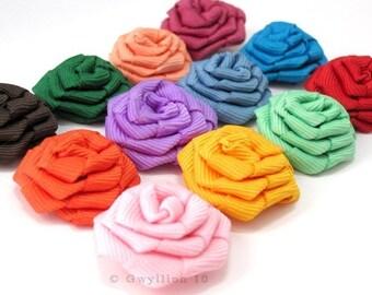 Rainbow Mix Rose Drops - (12)