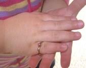 Vintage Birthstone Children's Ring