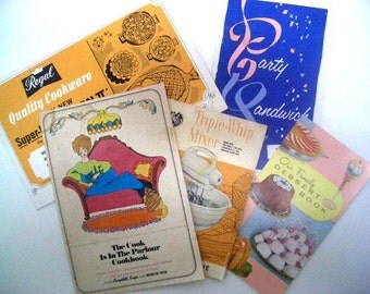 Vintage Recipe Books - Set 5